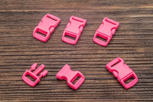 Фастекс 10 мм - розовый от Магазин паракорда и фурнитуры Survival Market
