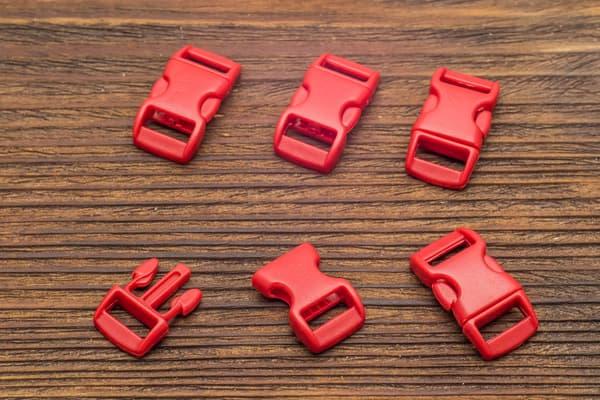 Фастекс 10 мм - темно-красный от Survival Market