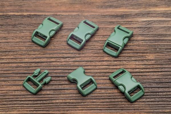 Фастекс 10 мм - темно-зеленый от Магазин паракорда и фурнитуры Survival Market