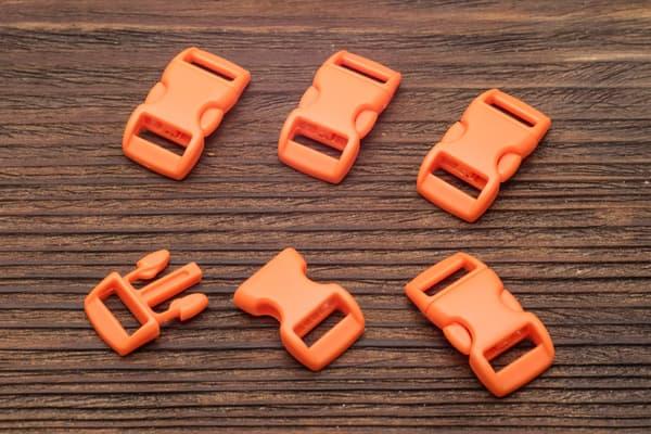 Фастекс 10 мм - ярко-оранжевый от Магазин паракорда и фурнитуры Survival Market