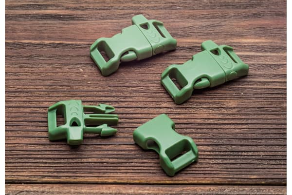 Фастекс 14 мм со свистком - армейский зеленый от Магазин паракорда и фурнитуры Survival Market