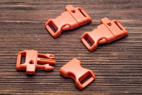 Фастекс 14 мм со свистком - оранжевый от Survival Market