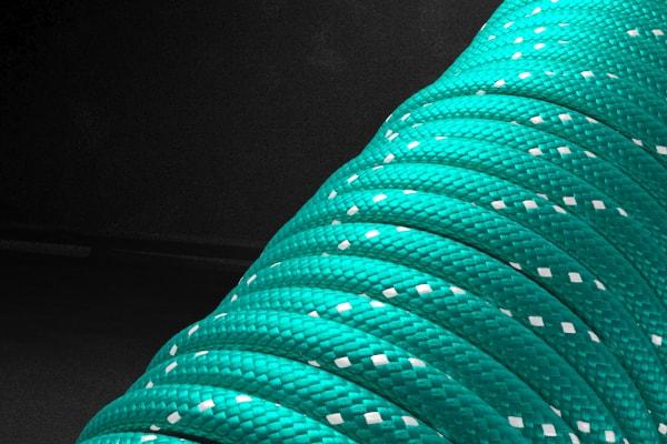 Светоотражающий 550 паракорд - бирюзовый от Survival Market