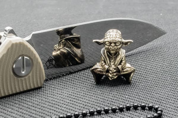 "Подвес на темляк ""Мастер Йода"" от Магазин паракорда и фурнитуры Survival Market"