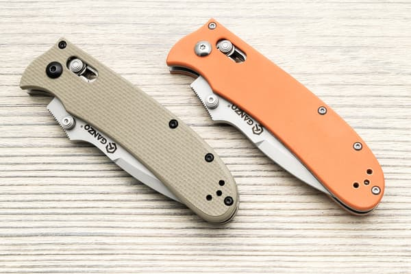 Нож Ganzo G704 (песочный) от Магазин паракорда и фурнитуры Survival Market