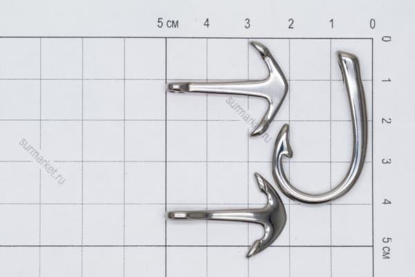 Якорь (8) отверстие 5 мм (хирургическая сталь) от Магазин паракорда и фурнитуры Survival Market