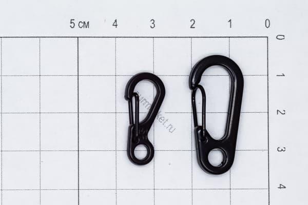 Карабин EDC 30 мм черный (ЕДЦ) от Магазин паракорда и фурнитуры Survival Market