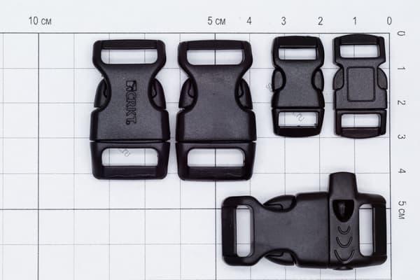 Фастекс 16 мм - черный от Магазин паракорда и фурнитуры Survival Market