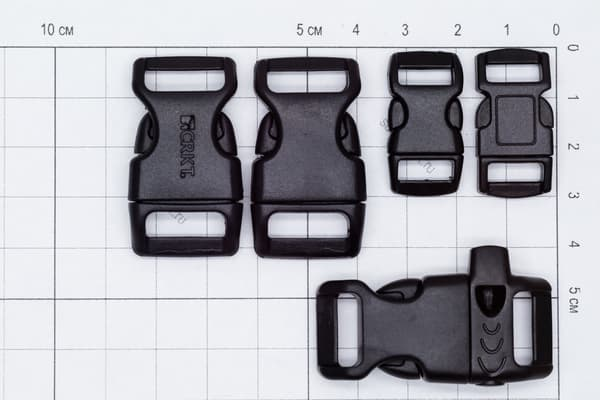 Фастекс 16 мм - койот от Магазин паракорда и фурнитуры Survival Market