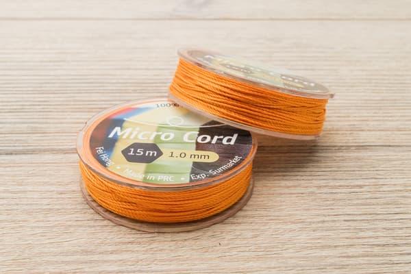 Микрокорд (1 мм, 15 метров) оранжевый от Магазин паракорда и фурнитуры Survival Market