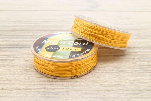 Микрокорд (1 мм, 15 метров) желтый от Магазин паракорда и фурнитуры Survival Market
