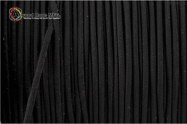 550 Paracord Atwood (USA) - Black - 30m от Магазин паракорда и фурнитуры Survival Market