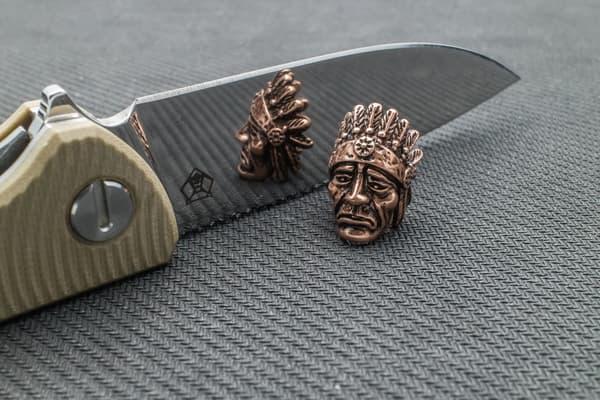 "Подвес на темляк ""Индеец"" (медный) от Магазин паракорда и фурнитуры Survival Market"