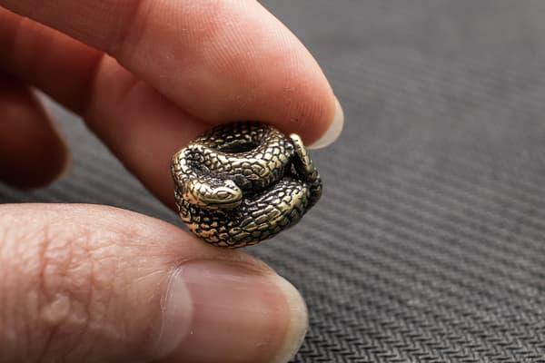 """Подвес на темляк """"Змея"""" от Магазин паракорда и фурнитуры Survival Market"""