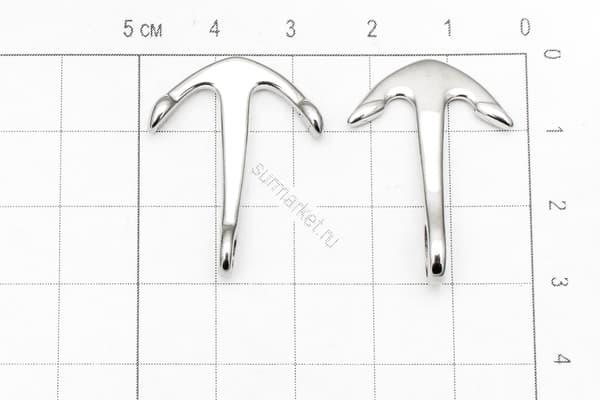 Якорь (9) отверстие 4 мм (хирургическая сталь) от Магазин паракорда и фурнитуры Survival Market