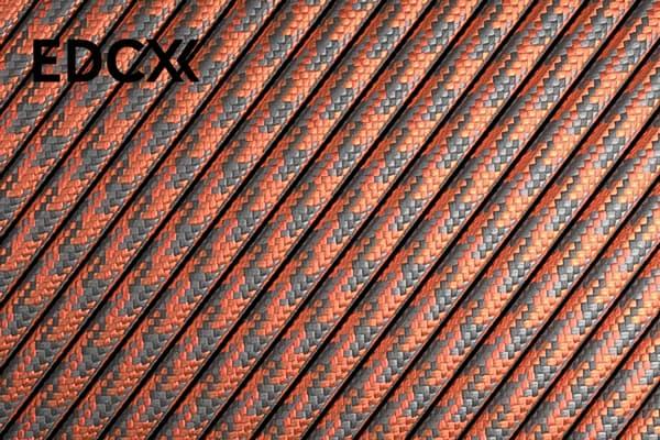 550 паракорд EdcX - Grey orange quarter (Украина) от Магазин паракорда и фурнитуры Survival Market