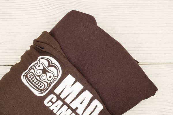 Гамак туристический повышенной прочности с карманом (Россия) кофейный от Магазин паракорда и фурнитуры Survival Market
