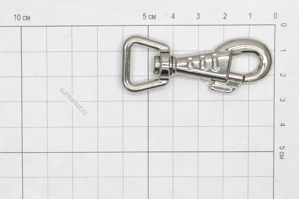 Карабин усиленный Dog Collar Hook 60 mm от Магазин паракорда и фурнитуры Survival Market