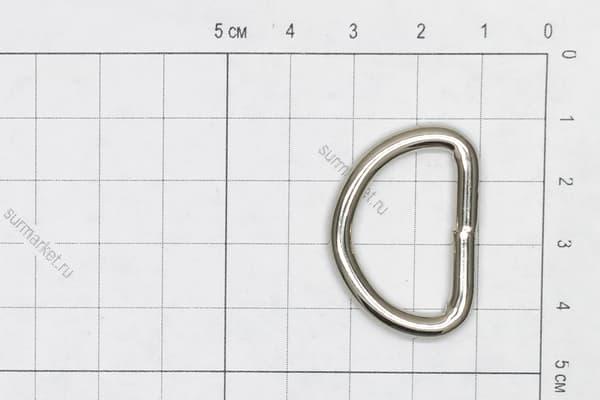 Полукольцо 25/D3,8 сварное усиленное от Магазин паракорда и фурнитуры Survival Market