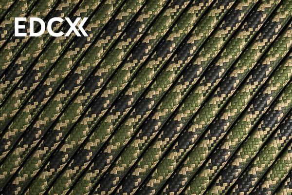550 паракорд EdcX - Veteran (Украина) от Магазин паракорда и фурнитуры Survival Market
