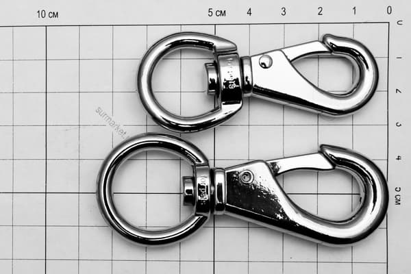 Карабин-крюк усиленный Dog Collar Hook 70 mm от Магазин паракорда и фурнитуры Survival Market