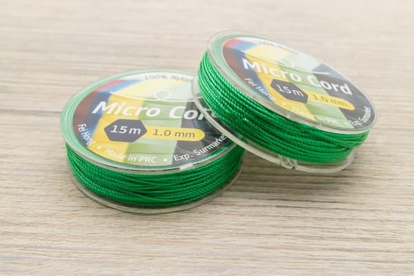 Микрокорд (1 мм, 15 метров) зеленый от Магазин паракорда и фурнитуры Survival Market
