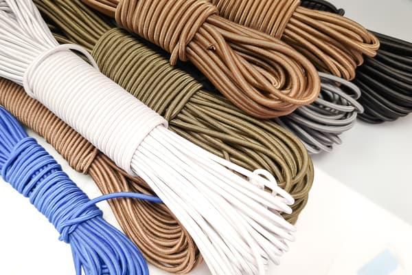 Shock cord (шнур-резинка) черный EdcX (2,4 mm) (Украина) от Магазин паракорда и фурнитуры Survival Market