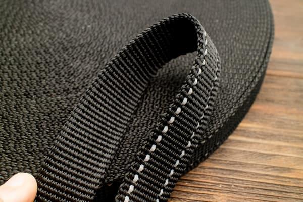 Стропа ременная 25 мм * 2,0 мм (черный) от Магазин паракорда и фурнитуры Survival Market
