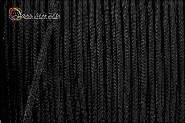 Паракорд 550 USA - Black от Магазин паракорда и фурнитуры Survival Market