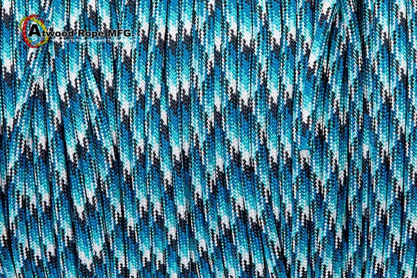 Паракорд 550 USA - Blue Snake от Магазин паракорда и фурнитуры Survival Market