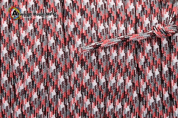 550 Paracord Atwood (USA) - Red Camo от Магазин паракорда и фурнитуры Survival Market