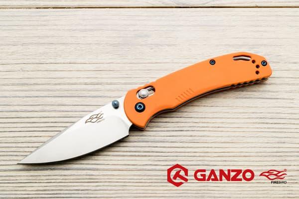 Нож Ganzo Firebird F753M1 (оранжевый) от Магазин паракорда и фурнитуры Survival Market